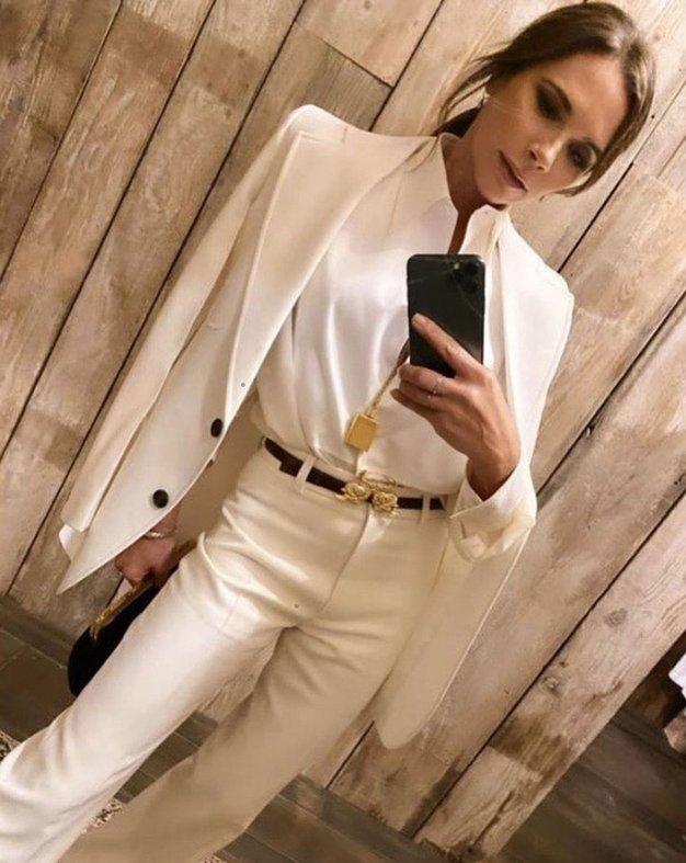 Victoria Beckham nas je očarala v tej obleki - Foto: Profimedia