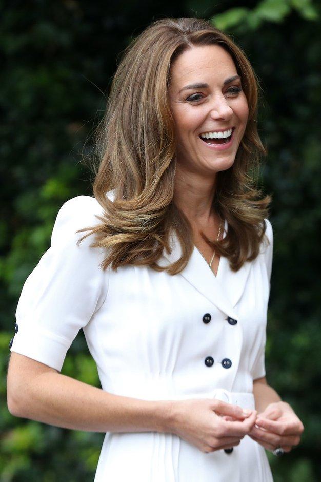 Kate Middleton čudovita v poletni obleki iz Zare za 8 evrov - Foto: Profimedia