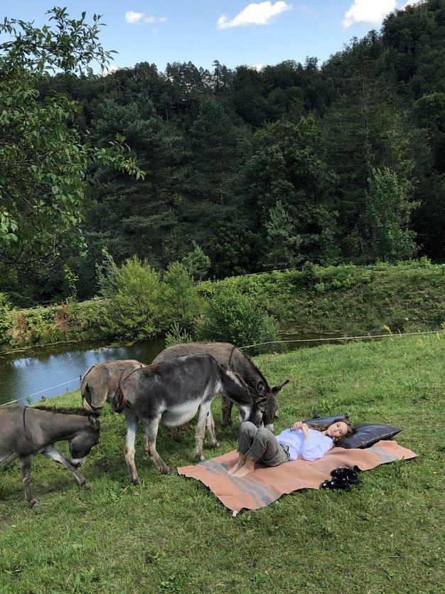 Preberite, kako naša novinarka preživlja letošnje poletje na podeželju - Foto: osebni arhiv