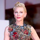 Cate Blanchett nas je v Benetkah navdušila s čudovitimi trajnostnimi stajlingi