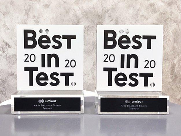 Že veste? Certifikat za najboljše mobilno in fiksno omrežje je že drugič prejel Telemach - Foto: PROMO