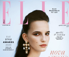 Tu je nova številka ELLE - poglejte, kaj vam tokrat sporoča modna urednica