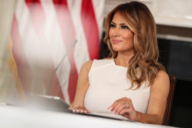 Melania Trump je pravkar nosila to oprijeto obleko - Foto: Profimedia