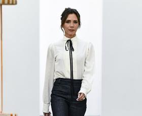 Oglejte si najlepše kreacije z modne revije Victorie Beckham