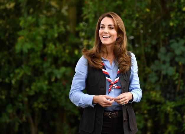 Kate Middleton je nosila svoje najljubše kavbojke (+ kje kupite podobne) - Foto: Profimedia