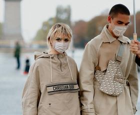 Maisie Williams in njen fant Reuben Selby sta nas spet navdušila z ujemajočima outfitoma