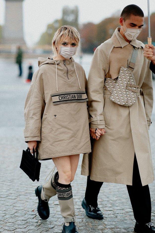 Maisie Williams s fantom Reubenom Selbyjem. Oglejte si tudi vse ostale stajlinge ...