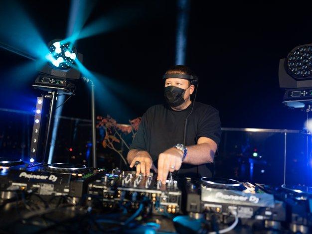 DJ UMEK nad Ljubljano pospremil prvi pojav Aurore - Foto: Promocijsko gradivo