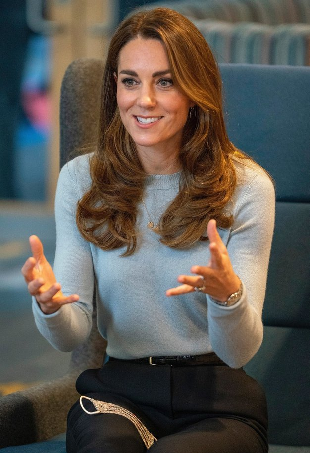 Veste, zakaj Kate Middleton tako pogosto nosi modro barvo? Obstaja prav poseben razlog - Foto: Profimedia