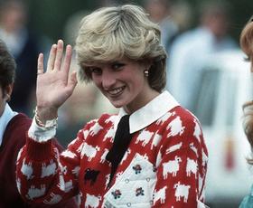 Poglejte, kje lahko kupite najljubši pulover princese Diane