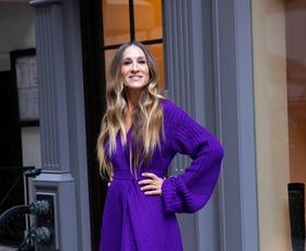 Sarah Jessica Parker je nosila čudovito zimsko obleko
