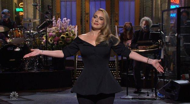 V tem stajlingu je bila Adele videti zares odlično - Foto: Profimedia