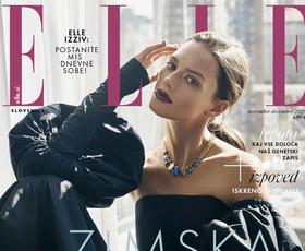 Tukaj je nova številka revije ELLE! Modna urednica vam tokrat sporoča, da ...