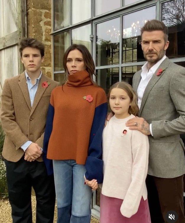Victoria Beckham je objavila prisrčno božično voščilnico. Od srca se boste nasmejali - Foto: Profimedia