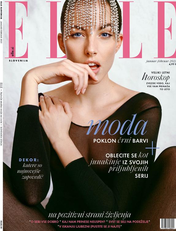 Tukaj je nova številka revije ELLE! Modna urednica tokrat govori o kulturi odpovedi - Foto: Elle