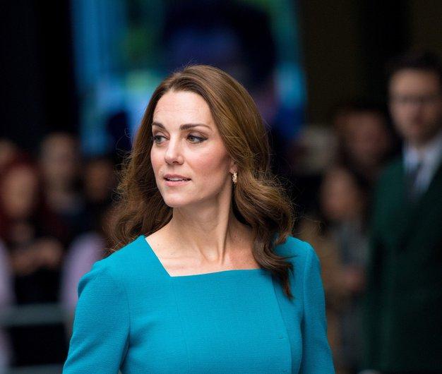 Kate Middleton čudovita v suknjiču s tem klasičnim vzorcem - Foto: Profimedia