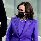 To je razlog, zakaj so Kamala Harris, Michelle Obama in Hillary Clinton na inavguraciji vse nosile vijolično barvo