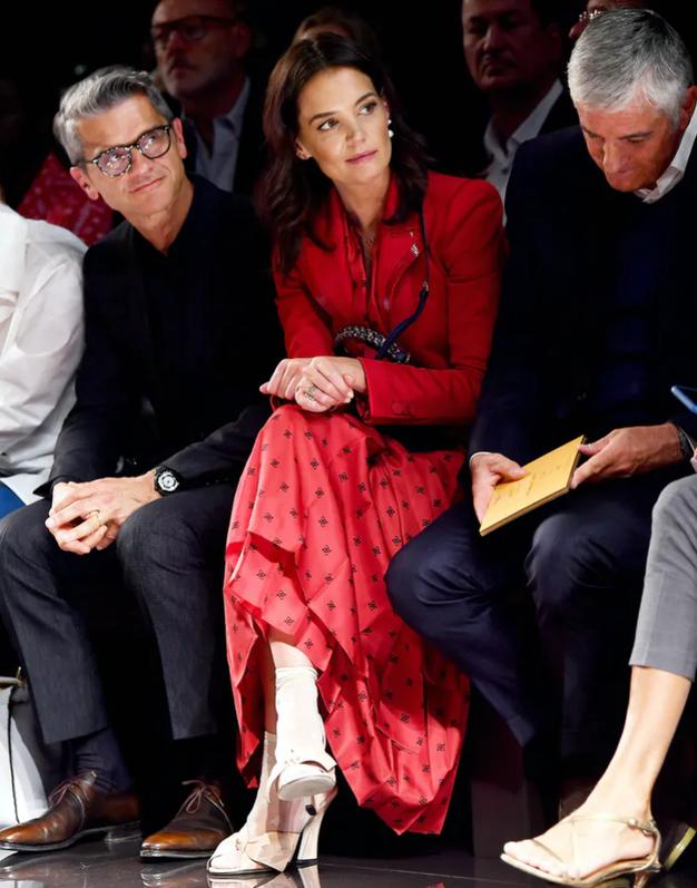 Katie Holmes obuja ta pozabljen modni trend - bodite med prvimi! - Foto: Profimedia