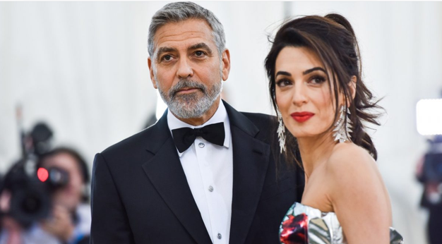 Amal in George Clooney: kako ohranjata romantiko v času karantene - Foto: Profimedia