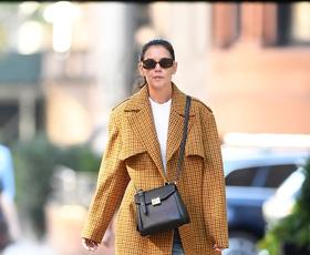 Katie Holmes nas je navdušila z najbolj modno kombinacijo te sezone