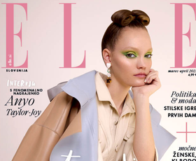 Tukaj je nova ELLE! Modna urednica se tokrat sprašuje, kam jo bo v prihodnosti mahnila moda?