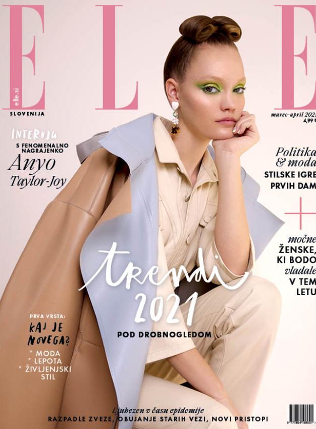 Tukaj je nova ELLE! Modna urednica se tokrat sprašuje, kam jo bo v prihodnosti mahnila moda? - Foto: Elle