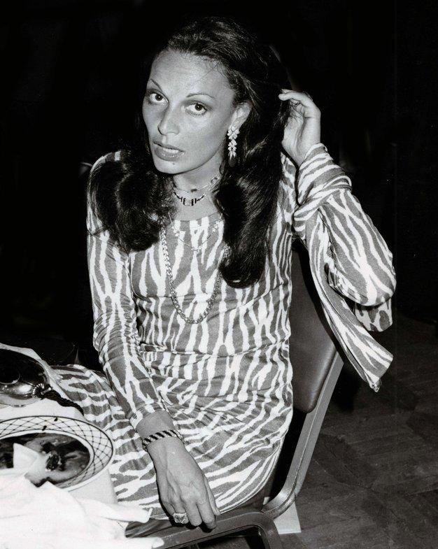 Diane von Fürstenberg Znamko, najbolj znano po poletni obleki, je ustanovila leta 1972.