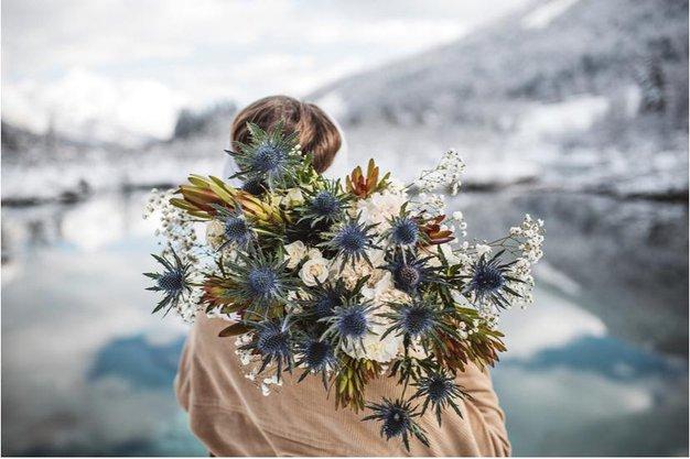 Metka Sporiš s Sanjskega šopka nam je zaupala letošnje najlepše cvetlične trende - Foto: Vid Rotar