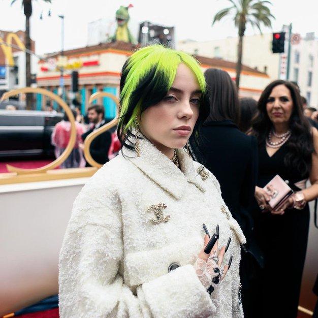 Nova frizura Billie Eilish podira rekorde na Instagramu (ne, ne govorimo o zelenem narastku) - Foto: Profimedia