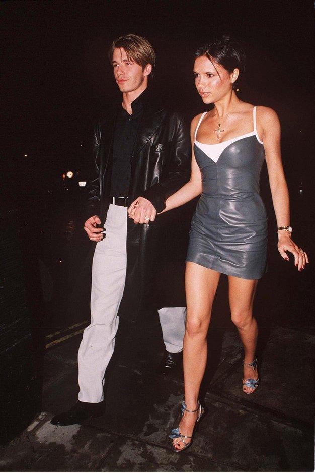 David in Victoria Beckham Poročena od leta 1999.