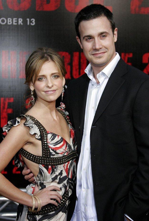 Sarah Michelle Gellar in Freddie Prinze Jr. Poročena od leta 2002.