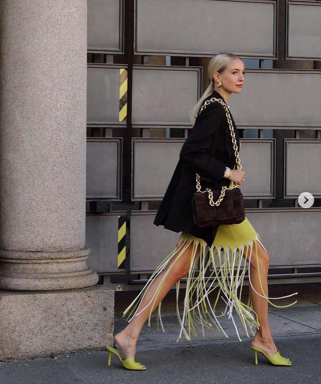 To je najbolj modna kombinacija dveh klasičnih kosov, ki jo bomo oboževali to pomlad - Foto: Instagram