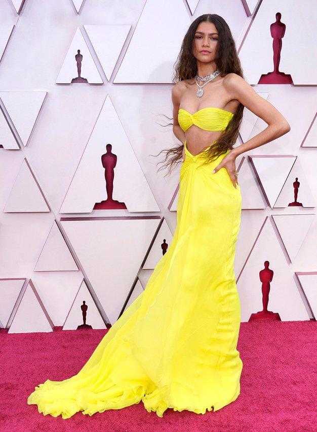 Zendaya v obleki Valentino Couture