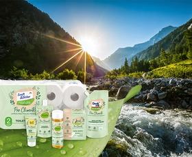 Nov pristop k varstvu okolja: dm predstavlja znamko okoljsko nevtralnih izdelkov