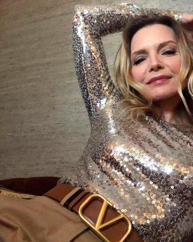 Michelle Pfeiffer je svoj 63. rojstni dan proslavila s tem čudovitim videzom - Foto: Profimedia