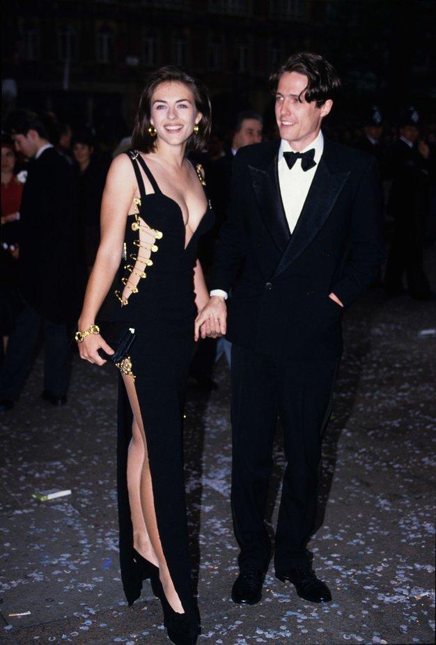 Hugh Grant in Elizabeth Hurley Hodila sta kar 13 let - od leta 1987 do 2000.
