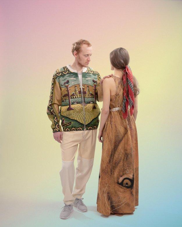 Trajnostni modni pristop je lahko tudi takšen - Foto: Tomaž Šantl