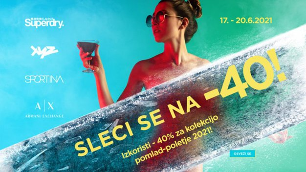 To je ponudba, ki se ji težko upreš: nakupovalni festival v trgovinah Sportina Group - Foto: Sportina