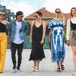 Ljubiteljice mode imamo v teh dneh veliko razlogov za veselje (k nam je prišla ta tako zelo zaželena modna platforma!) (foto: Urška Pečnik)