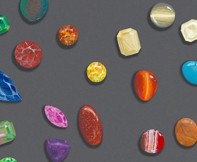 Barvni dragulji še nikoli niso bili tako priljubljeni