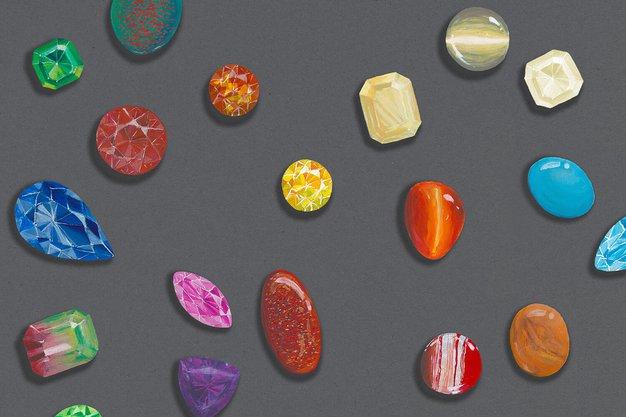 Barvni dragulji še nikoli niso bili tako priljubljeni - Foto: Malalan