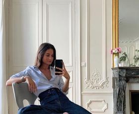 Kako to jesen kombinirati anti-skinny trend kavbojk kot Parižanke