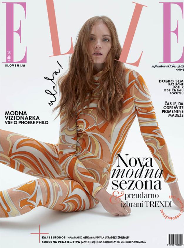 Izšla je nova Elle! Modna in lepotna urednica tokrat razmišlja o vseživljenjski negi vsega, kar nam je blizu - Foto: Elle