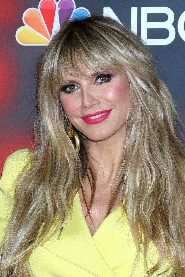 Heidi Klum navdušila v rumenem kostimu v stilu Abbe - Foto: Profimedia