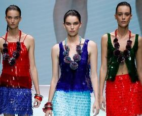 To so najlepše kreacije z modne revije Emporio Armani