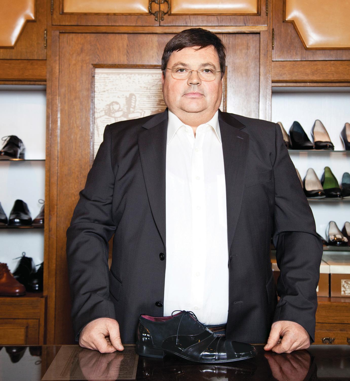 Vladimir Vodeb, modno čevljarstvo